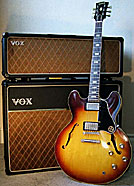 Gibson 335 and Vox